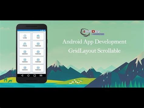 android gridlayout scrollable 46 android tic tac toy player click ضغط الزر doovi