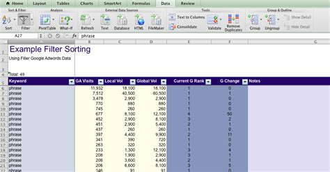 wood header design exle creating a ms excel column header row for sorting my
