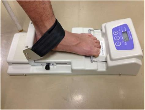 toe grips test of toe grip strength the proximal phalanx is positioned at