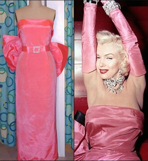 marilyn diamonds dress pink satincustom by