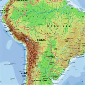northern south america map map of south america maps and directions at map