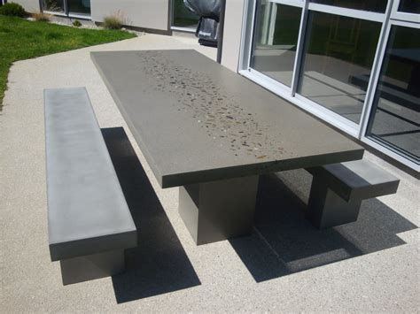 Modern And Perfect Concrete Outdoor Furniture All Home Outdoor Cement Furniture