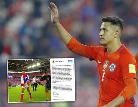 arsenal instagram arsenal fans react as alexis sanchez hits out at media on
