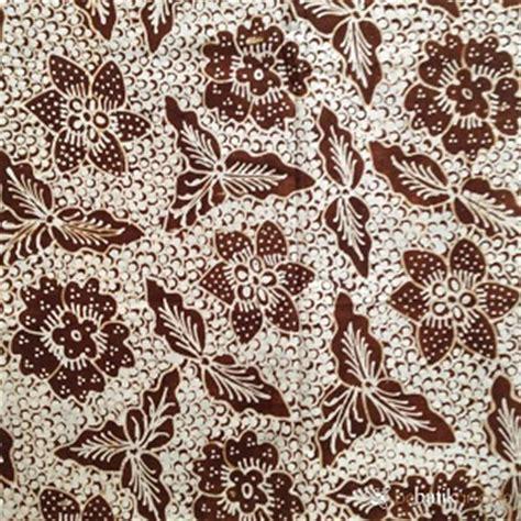 Jarik Kain Batu 20 Putih Coklat fitinline keunikan makna filosofi batik klasik motif