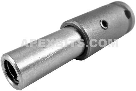 m 835 apex 3 8 square drive bit holder magnetic