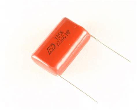 capacitor polyester 1uf 400v rm275vac105k dain electronics capacitor 1uf 275v polyester radial 2020001417