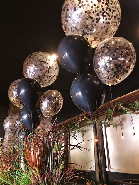 Black And White Balloon Decorations » Home Design 2017