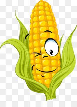 jagung rebus jagung kartun gambar png