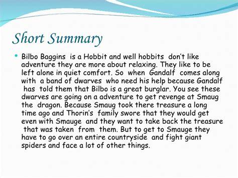 the hobbit book report the hobbit