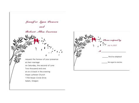 Wedding Invitation Reply Card Template by Wedding Invitations Reply Cards Wedding Invitations