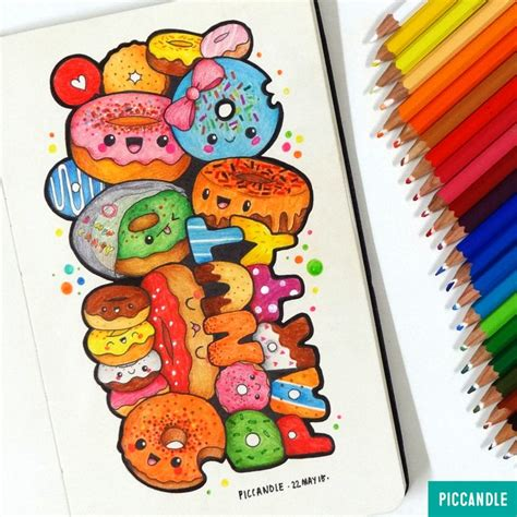 doodlebug donuts 126 best images about pic candle doodles on