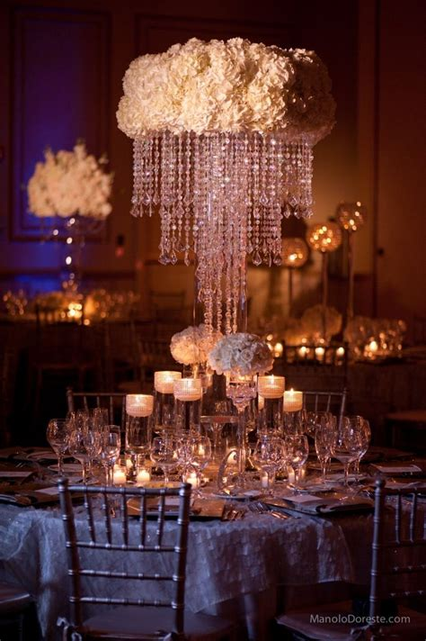 Centerpiece Chandelier Wedding Deluxe Wedding Ideas Receptions Clouds And Wedding