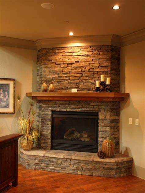 stone fireplaces images best 25 corner stone fireplace ideas on pinterest