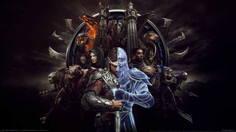 video game wallpaper uk middle earth shadow of war video review pc