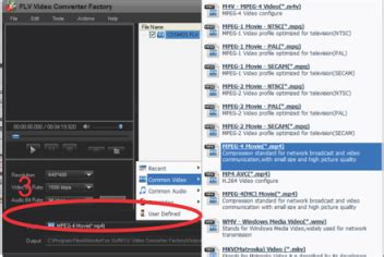 format video flv adalah cara mudah mengubah file berformat flv ke format mp4 avi