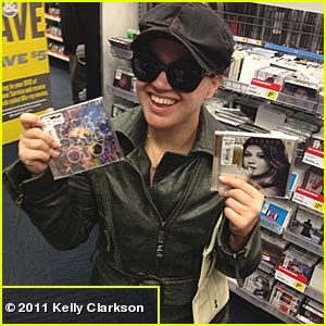 best cds clarkson buying the two best albums out this year