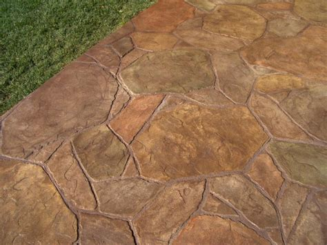stone patterns decorative concrete san luis obispo ca stman concrete