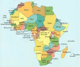 Current Map Of Africa by Bradfieldgeography Africa Lesson