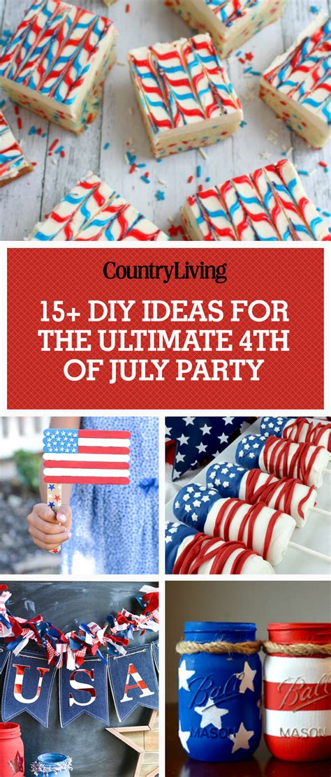 fourth of july diy 16 best 4th of july ideas diy decor for a fourth of july cookout