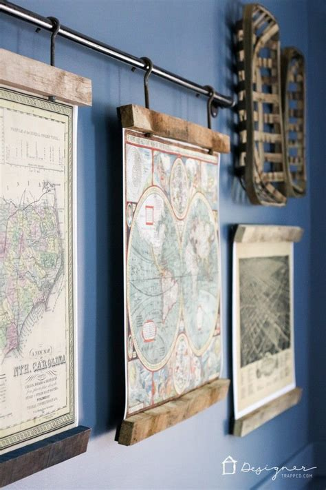 how to hang a map without a frame 17 best ideas about industrial frames on pinterest