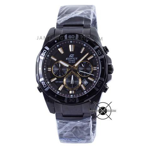 Harga Jam Tangan Merk Edifice harga sarap jam tangan edifice efr 534bk 1av black gold