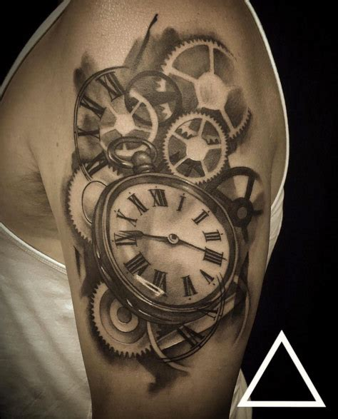 pocket watch tattoo meaning 34 superb pocket designs tattooblend