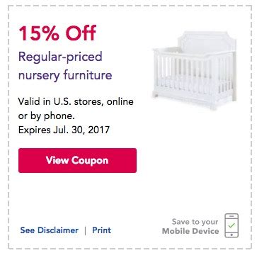 Babies R Us Crib Coupons Baby Coupons