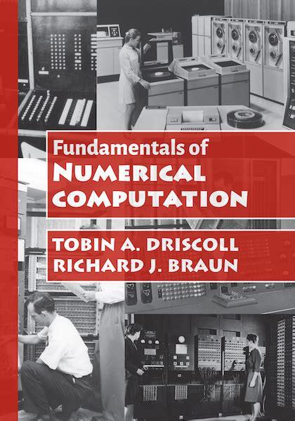 fundamentals of numerical computation books fundamentals of numerical computation file exchange