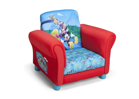 personalized kid chair ottoman mickey mouse upholstered chair delta children s products