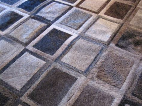 Cow Patchwork Rug - patchwork cowhide leather rugs roselawnlutheran