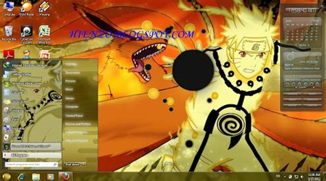 download themes naruto windows xp download tema naruto kyuubi untuk windows xp
