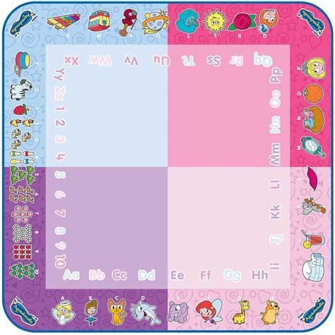 umagine aquadoodle draw doodle classic mat aquadoodle classic mat pen water drawing play draw