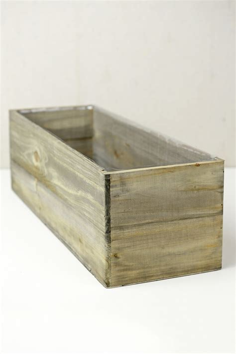 Planter Box Liners by Woodland Planter Box With Liner 18 X 6 5