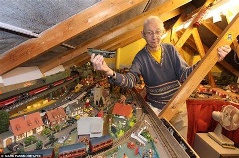 Tiny A Frame House Plans devon couple s model railways took 10 years to build