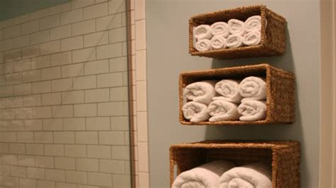bathroom wall baskets store linen in wall mounted baskets lifehacker australia