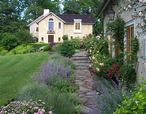 house cottage garden guest house cottage garden farmhouse landscape