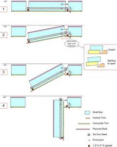 pdf diy bookcase door hinge hanley wood