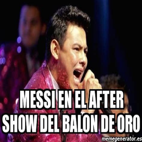 Meme Messi - los memes del bal 243 n de oro 2014