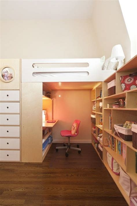 Bunk Bed With Space Underneath Mixing Work With Pleasure Loft Beds With Desks Underneath