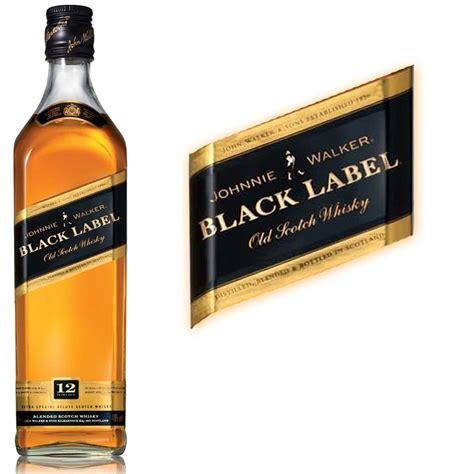 black label johnnie walker black