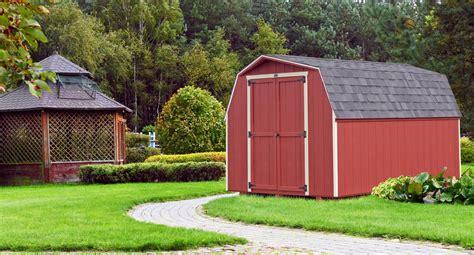 barn amish built sheds  york