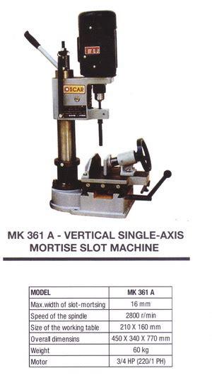 Mesin Bor Bobok Kayu Oscar Mk 361 A Mortising Chisel product of mesin oscar supplier perkakas teknik distributor perkakas teknik glodok bengkel
