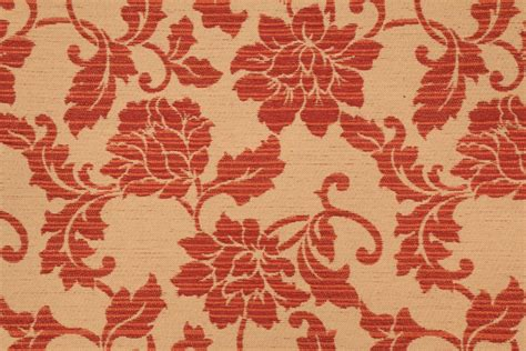 Rose Upholstery Fabric 2 8 Yards Beacon Hill Pomegran Rose Tapestry Upholstery