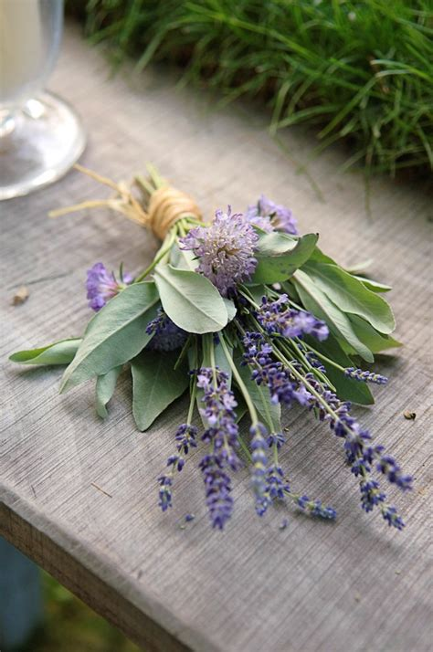 Wedding Bouquet Herbs by 20 Ways To Feature Herbs In Your Wedding