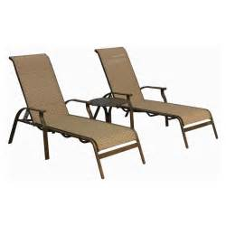Sling Chaise Lounge Panama Island 3 Sling Chaise Lounge Set Outdoor Chaises Outdoor Seating