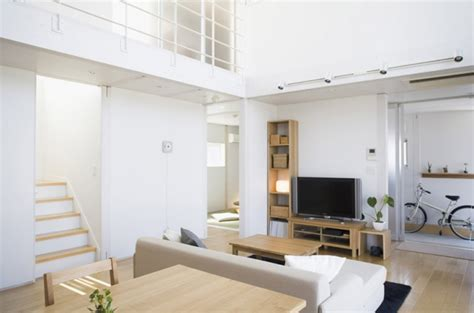 Muji Interior Design by Small Compact Minimalist Prebaricated Home In Japanese