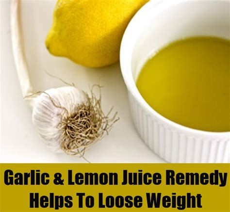 Lemon Garlic Detox Drink by 18 Surprisingly Easy Home Remedies For Weight Loss Diy