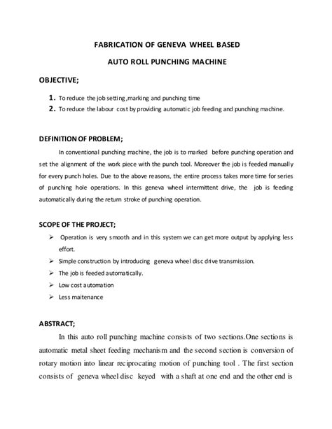 Auto Roll by Auto Roll Punching Machine Review Notes R