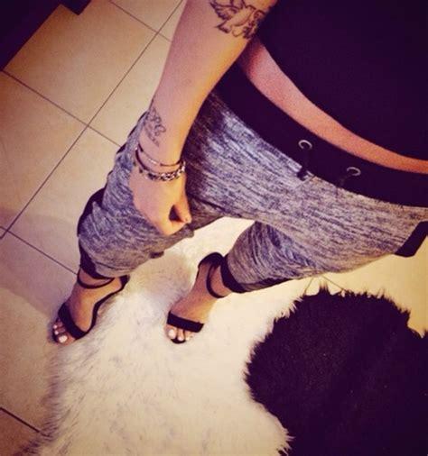 Wedges Lv Sweet grey black sweat sweatpants heels high heels