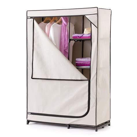 Portable Wardrobes by Portable Wardrobe With Cover Kmart